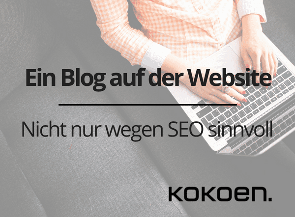 Blog auf der Website